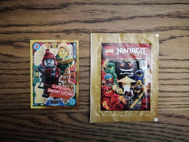 Naklejki i karta Lego Ninjago