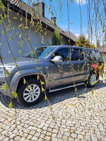Volkswagen Amarok higline, zabudowa