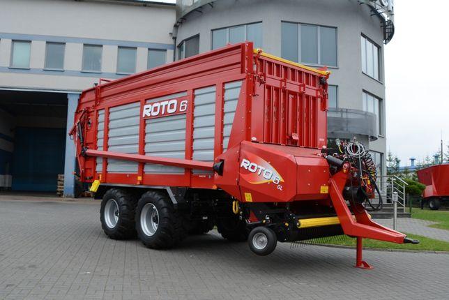 Przyczepa samozbierająca METAL-TECH ROTO 6 Ton ROTO 10 Ton