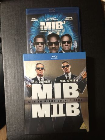 Men in Black - MIB blu-ray dvd box set +