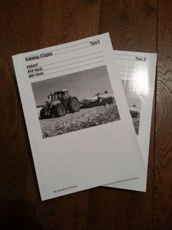 Katalog części Fendt 818 , 820 Vario