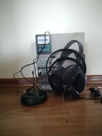 Bezprzewodowe słuchawki nauszne PHILIPS SHC5200/10 Czarny