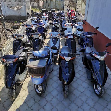 Скутера Yamaha Honda Suzuki; Мопеди Alpha; Мотоцикли Hornet RS, GT