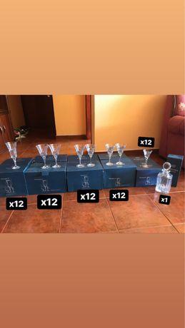 Bohemia Crystal - colecao de copos de cristal + jarra