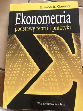Ekonometria podstawy teorii i praktyki Brunon Górecki