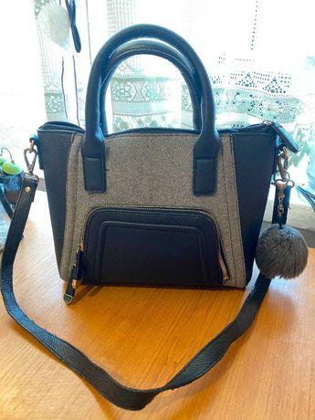 Женская сумка c длинной и короткой ручкой от New Look