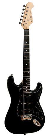 Gitara elektryczna Ever Play ST-2 SSH BK +tuner+wzmacniacz