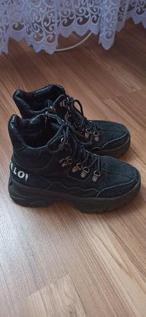 Ботінки,черевики зимові натуральний замш