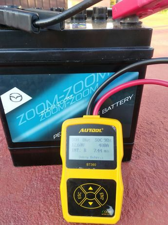 Akumulator Mazda 12 v 50ah 400A,stan bdb