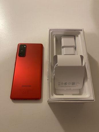 Samsung Galaxy S20 FE czerwony, gwarancja