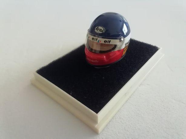 1/18 Capacete PHILIPPE STREIFF - Raro (Miniatura - JF Creations)