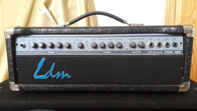 Zestaw gitarowy LDM VGA160 plus kolumna