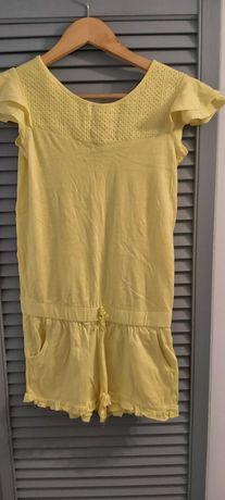 Żółty kombinezon Zara