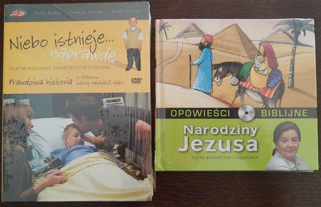 """DVD """"Niebo istnieje.. Naprawdę"""" i CD Narodziny Jezusa"""