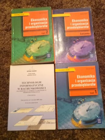 Ekonomika i organizacja przedsiębiorstw cz.1 i 2 +ćwiczenia + gratis