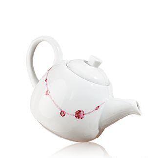 """Чайник """"Блестящая хозяйка"""" Diamond Tea Pot Oriflame керамический"""