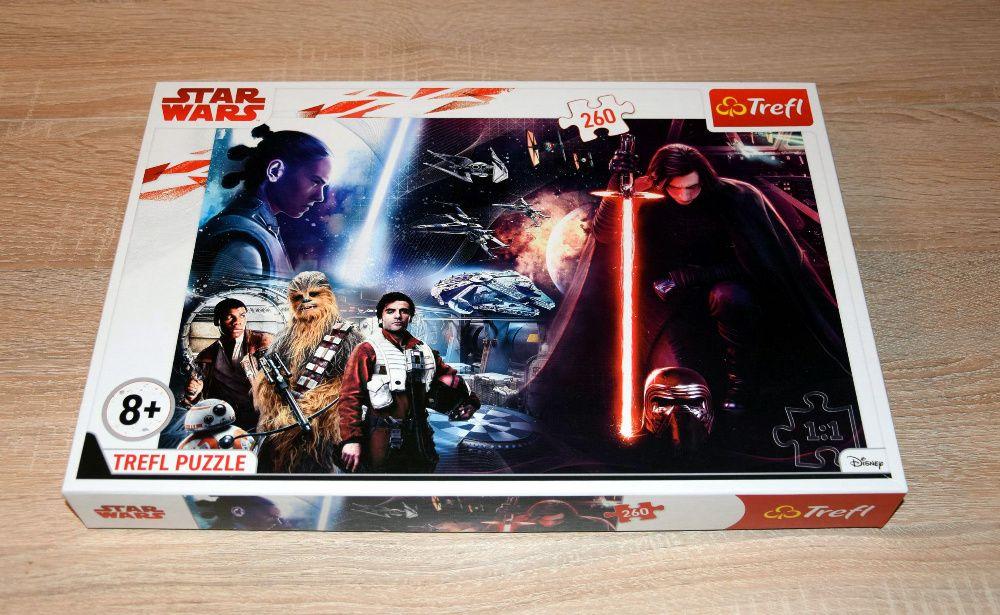 !TANIO - PUZZLE Star Wars TREFL - 260 elementów, wiek 8+ jak NOWE Zielona Góra - image 1