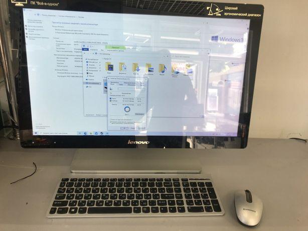 """Моноблок сенсорный Lenovo IdeaCentre A520 23"""" 8GB, 240GB"""