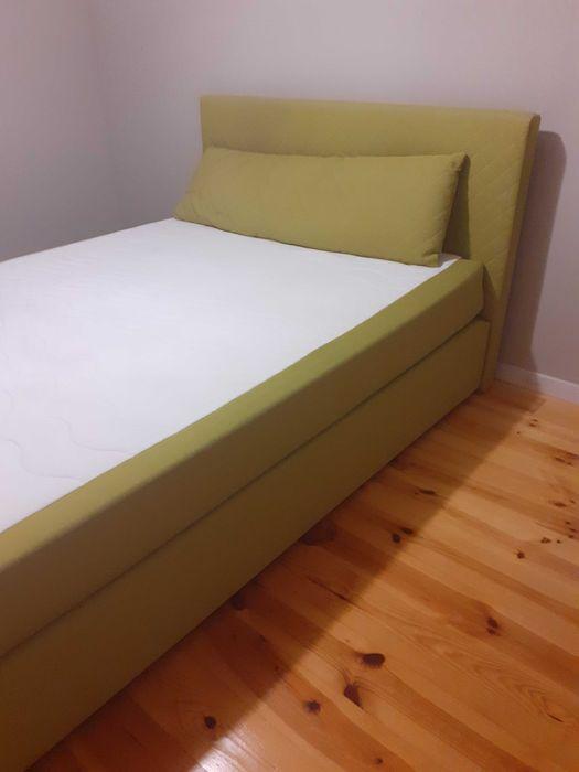 Łóżko tapicerowane 140x200 Frampol - image 1