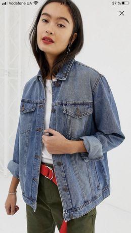 Джинсовка asos noisy may джинсовая куртка