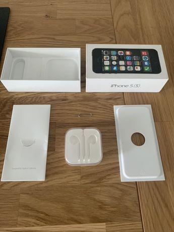Opakowanie/Pudełko czarny Iphone 5s