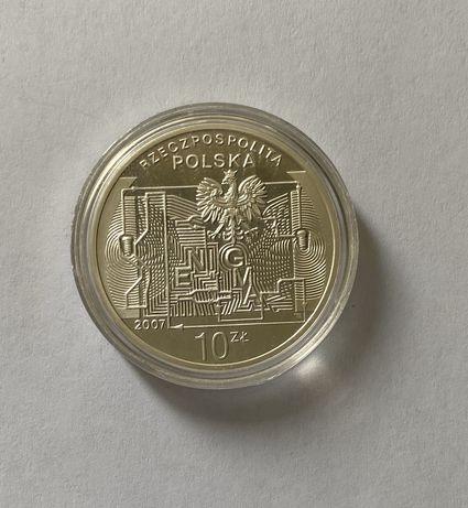 Srebrna moneta 10 zł 75. Rocznica Złamania Szyfru Enigmy