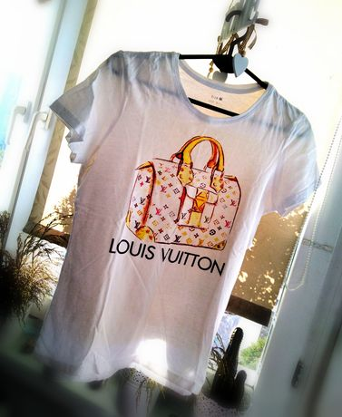 T shirt lv nowy