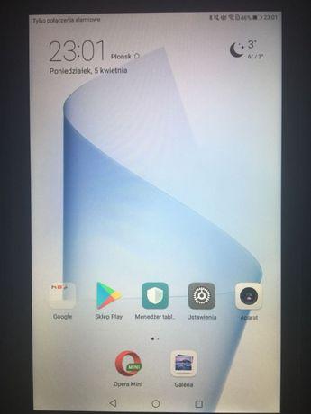 """Tablet 8"""" Huawei z Google Play!!! LTE/WiFi ,praktycznie nie uzywany"""