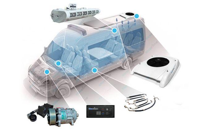 Комплект кондиционера «Iceclime» для Sprinter, Crafter, LT и т.д.