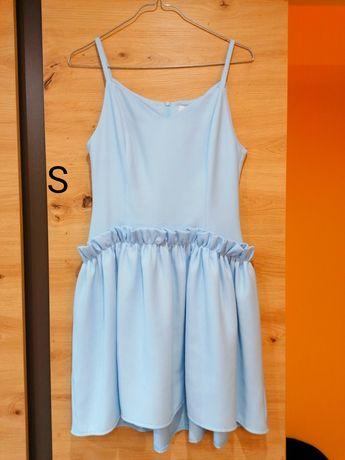Sukienka błękitna rozmiar s