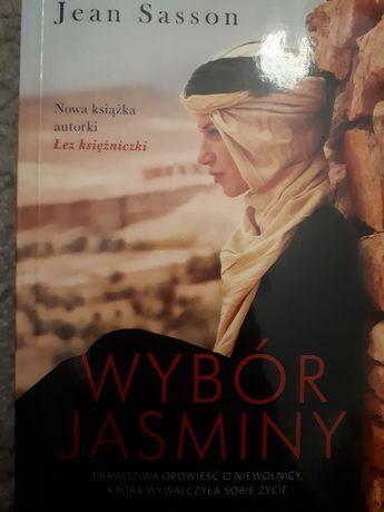 """""""Wybór Jasminy"""" Jean Sasson"""