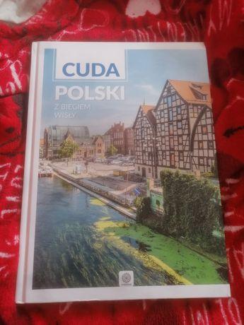 Książka cuda polski z biegiem Wisły