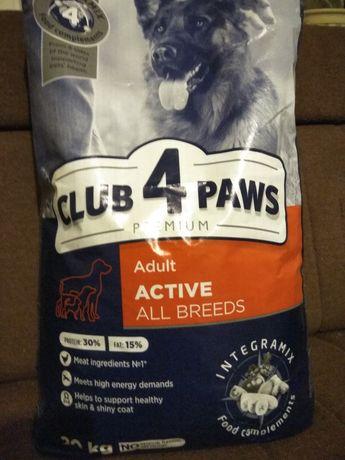 Корм для собак 4 лапи 20 кг. В наявності та під замовлення.