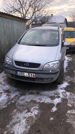 Opel zefira 2.0 р0зб0ка