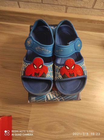 Sandały Spiderman piankowe