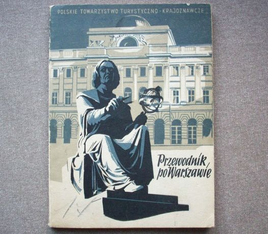 Przewodnik po Warszawie, F. Kanclerz, 1952.