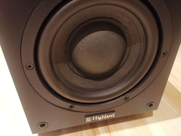 Subwoofer aktywny Highland Audio Dord 265 kolumny głośniki jbl b&w kef