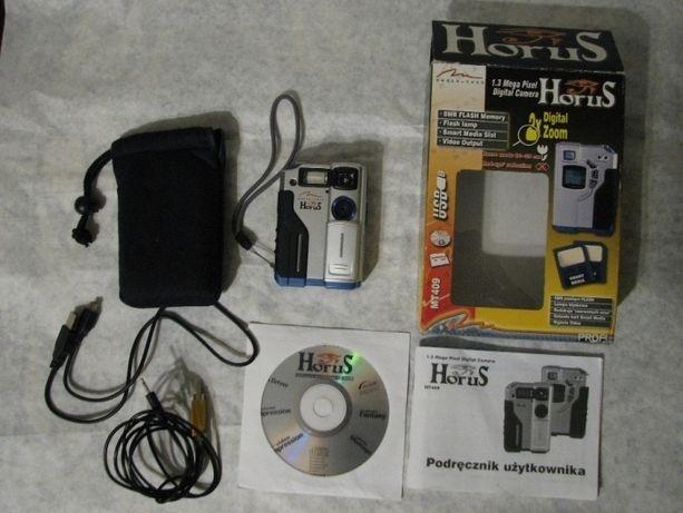 Aparat fotograficzny Horus MT409 Media-tech kamera internetowa lampa