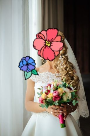 Продам свадебное платье Mishel 38 размер.