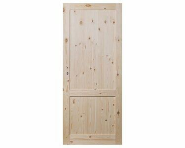 Drzwi sosnowe z ościeżnicą stała.