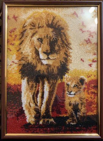 Картина «отец и сын»