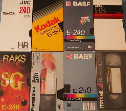 Casetes VHS lotes de 6