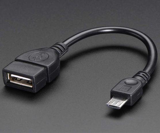 Кабель переходник TOTO OTG S-K07 micro USB на USB 2.0 adapter Black