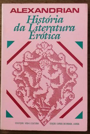 história da literatura erótica, alexandrian, livros do brasil
