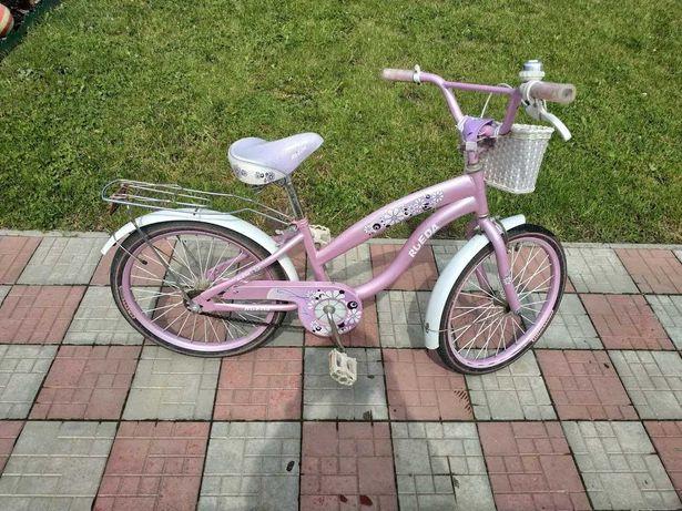 Велосипед дитячий бу, (дівчачій) колеса 20