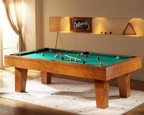 Bilhar Snooker Faial com Tampo jantar - Bilhares Capital