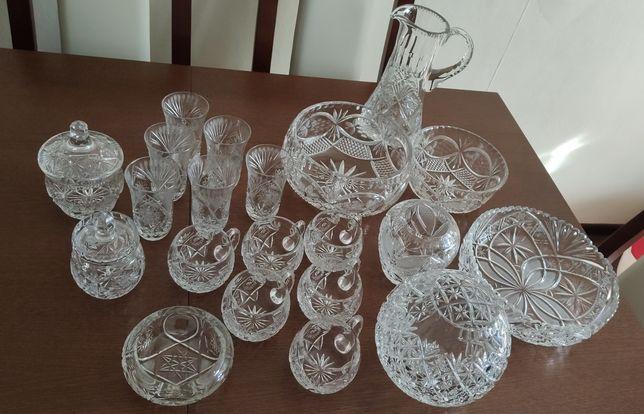 Zestaw kryształów piękny elegancki dekoracyjny Zabrze