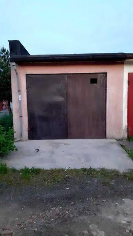Garaż murowany z kanałem