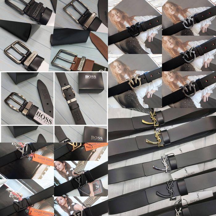 Кожаные ремни Calvin Klein, Pinko, Gucci, Armani Yves Saint Laurent Харьков - изображение 1