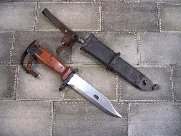 Oryginalny Bagnet 6H4 Kałasznikow AK-47 używany w dobrym stanie